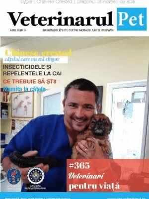 Ultimul numar al Revistei Veterinarul Pet